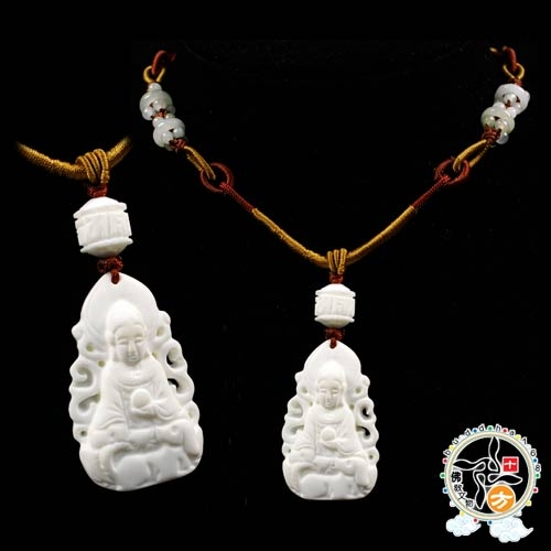 阿彌陀佛硨磲項鍊【十方佛教文物】
