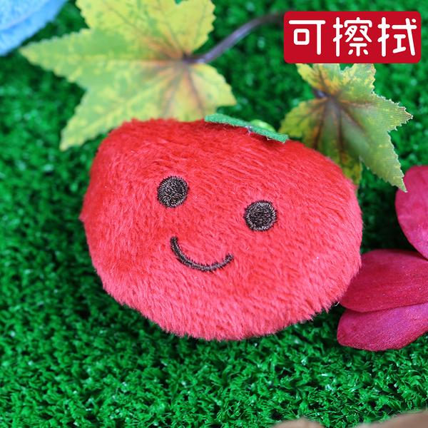 【nicopy】手機螢幕擦吊飾~番茄/背包裝飾