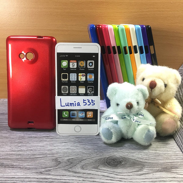◎大都會保護殼 NOKIA Lumia 535 Dual SIM 保護殼 TPU 軟殼 閃粉 矽膠殼 手機殼 背蓋