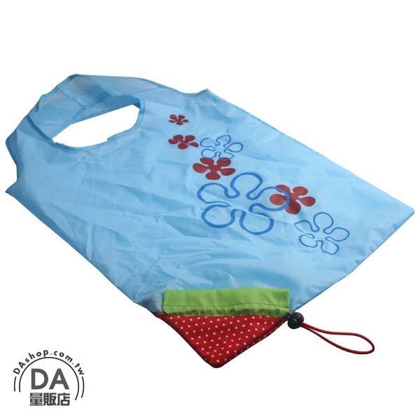 環保購物袋 草莓造型 折疊收納袋 購物袋 環保袋 二次進場 婚禮小物 送客禮(22-1401)