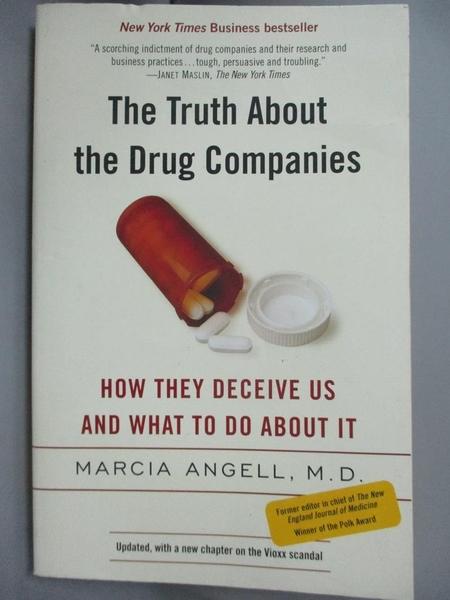 【書寶二手書T8/原文書_ISO】The Truth About The Drug Companies: How The