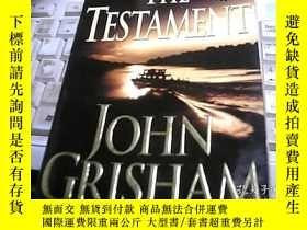 二手書博民逛書店THE罕見TESTAMENT 遺囑Y247341 外文 出版19