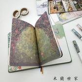 復古筆記本文具創意手帳記事本本子
