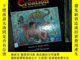 二手書博民逛書店the罕見amazing story of creation.g
