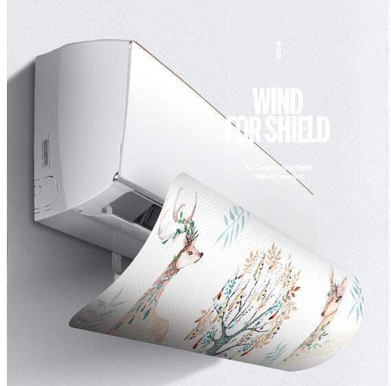 冷氣擋風板 BL空調擋風板月子防直吹出風口防風遮板通用導風罩冷風擋板【快速出貨】
