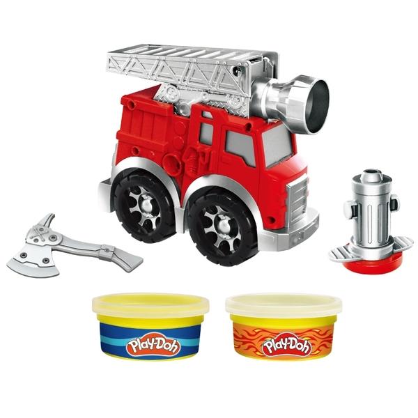 培樂多黏土Play-Doh 車輪系列 消防車遊戲組