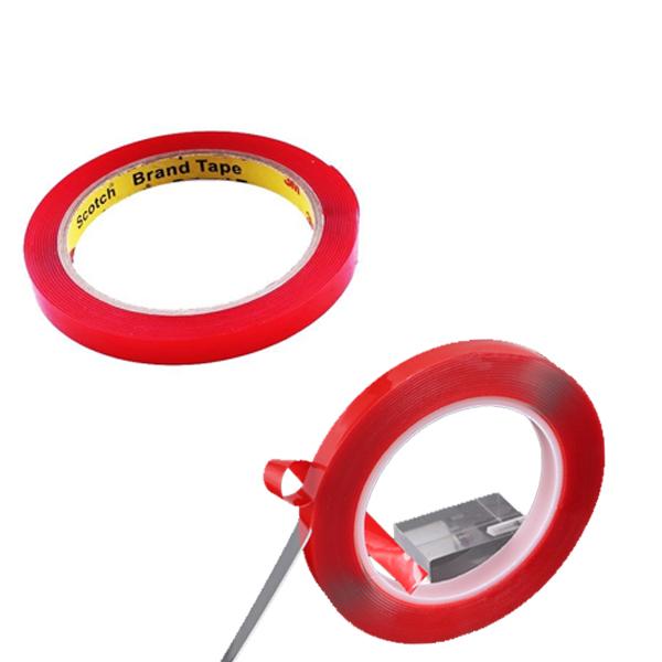 10MM*3M 無痕強力膠條 強力雙面膠 透明無痕 汽車 精品 汽車百貨(80-0956)