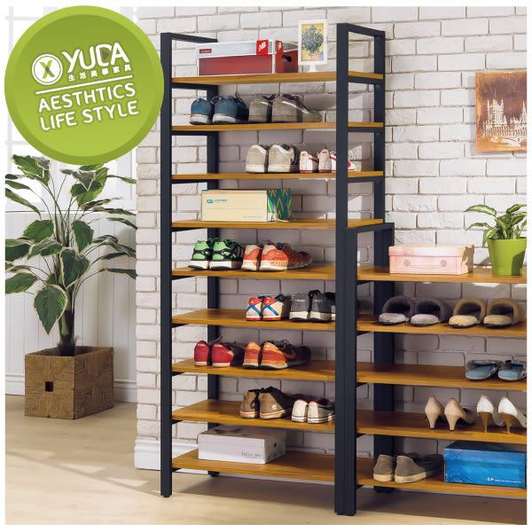 【YUDA】工業風 拖鞋櫃/鞋櫃/玄關櫃/鞋架/高鞋架 S8Y 270-5