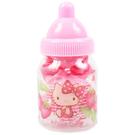 【震撼精品百貨】Hello Kitty 凱蒂貓~HELLO KITTY兒童髮飾組附奶瓶造型收納罐(粉紅)
