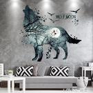 網紅牆紙壁紙自黏貼紙貼畫牆貼房間臥室布置3d立體背景牆裝飾布景 樂活生活館