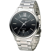 SEIKO 精工 CS 紳士經典時尚腕錶(7N42-0GG0D)SGEH53P1/43mm黑