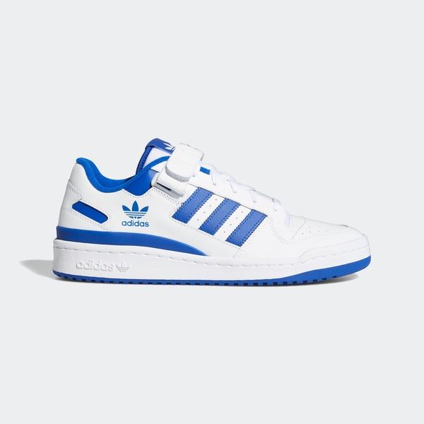 Adidas Forum Low [FY7756] 男鞋 運動 休閒 舒適 經典 籃球風 復古 穿搭 白 藍