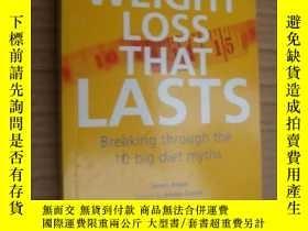 二手書博民逛書店WEIGHT罕見LOSS THAT LASTS:BREAKING