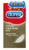 杜蕾斯超薄裝衛生套36入