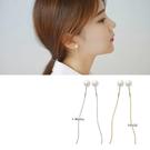 【NiNi Me】 夾式耳環 氣質甜美珍...