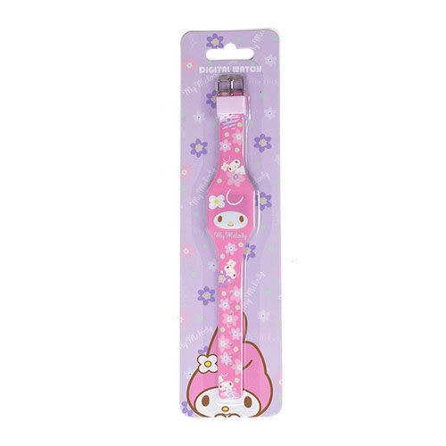 【震撼精品百貨】My Melody 美樂蒂~美樂蒂造型兒童電子手錶(繽紛小花)