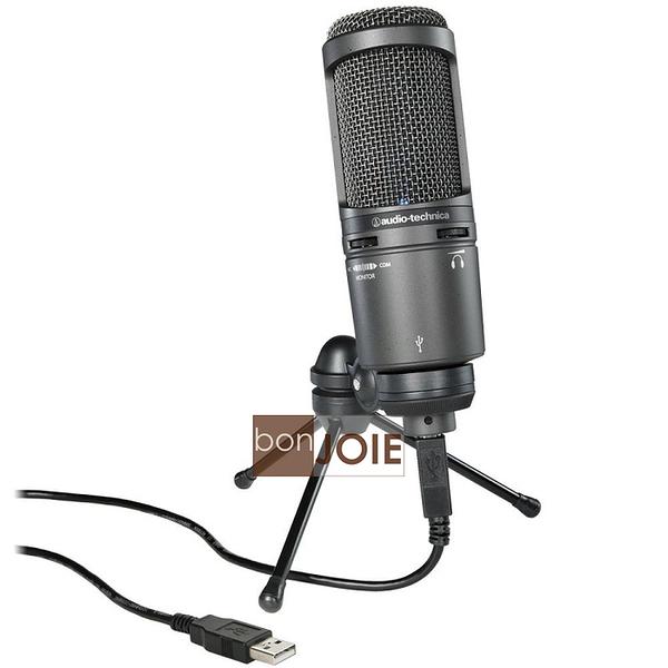 ::bonJOIE:: 美國進口 鐵三角 Audio-Technica AT2020USB+ 麥克風 (全新盒裝) AT2020 USB PLUS USB+ Microphone MIC