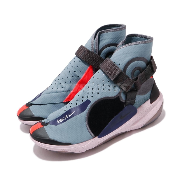 Nike 休閒鞋 ISPA Joyride Envelope 藍 灰 男鞋 運動鞋 魔鬼氈 【ACS】 BV4584-400