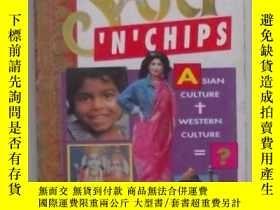 二手書博民逛書店原版英文書《罕見Sari  n  Chips 》by Ram
