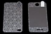 USAMS 3D 雷射Laser 高耐磨 手機螢幕保護貼膜 Apple iPhone 4S 菱格 (二片裝)