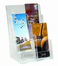 迪多Deflect-o 三層高背目錄架A4附隔板 77401 壓克力目錄架/壓克力型錄架
