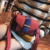 2018新款潮韓版時尚INS超火寬肩帶單肩百搭斜挎包WL3431【衣好月圓】
