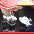 銀鏡DIY S925純銀材料配件/亮面晶...