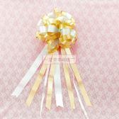 一定要幸福哦~~禮車門把花(金色)、男方結婚用品.婚俗用品