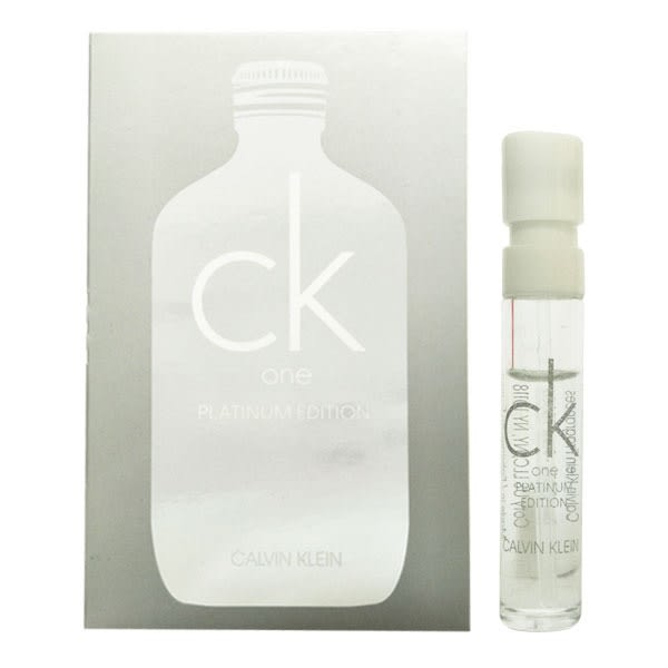 Calvin Klein one 白金未來中性淡香水限量版 1.2ml 針管【娜娜香水美妝】28508 CK