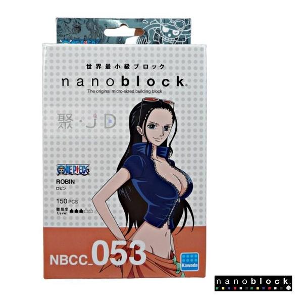 【日本 Kawada 河田】Nanoblock 迷你積木 羅賓 NBCC_053 海賊王/航海王/One Piece