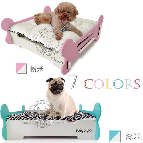 【 zoo寵物商城 】IBIYAYA 依比呀呀《寵物骨頭床 L》7種顏色可選擇 送尿布5片