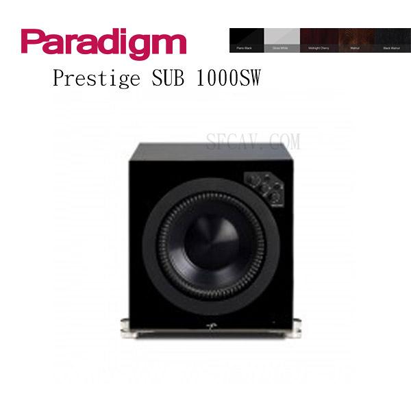【新竹勝豐群音響】Paradigm Prestige SUB  1000SW 超低音  M-CH / PB / GW