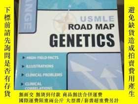二手書博民逛書店USMLE罕見Road Map: Genetics (LANGE