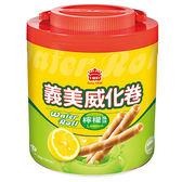 義美威化卷-檸檬500g【愛買】