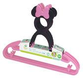日本 迪士尼 Disney 米妮可夾式衣架/嬰兒衣架 3入/組