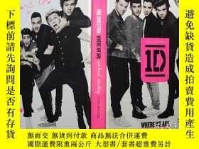 二手書博民逛書店單向樂隊罕見One Direction: Where We Ar
