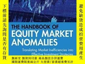 二手書博民逛書店The罕見Handbook Of Equity Market AnomaliesY255562 Zacks,