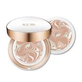AGE20S最新款瓷透肌聚焦爆水粉餅-長效持妝型[亮白色](1空殻+2粉蕊)