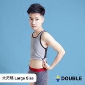 《Double束胸》COOLMESH 全網式束胸 排扣半身2L~3L大尺碼專區【D80】