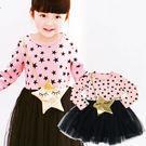 【錢豪童裝童鞋】星包紗質洋裝(85~13...