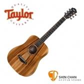 Taylor Baby BT-E-Koa 全相思木 36吋可插電旅行吉他 附原廠袋 【Taylor電木吉他/BTE-KOA】