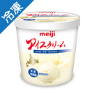 明治北海道牛奶冰淇淋690G /桶【愛買冷凍】