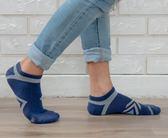 (男襪) 專業抗菌襪 抗菌除臭襪 吸濕排汗除臭襪  抗菌氣墊機能短襪-藍【M20002-06】Nacaco