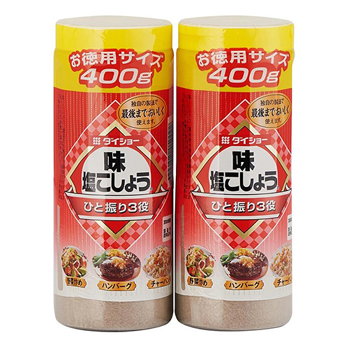 【 現貨 】Daisho 胡椒鹽 400公克 X 2入