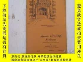 二手書博民逛書店民國:Steam罕見Heating Systems【USA】 房屋工程建造系列Y23766