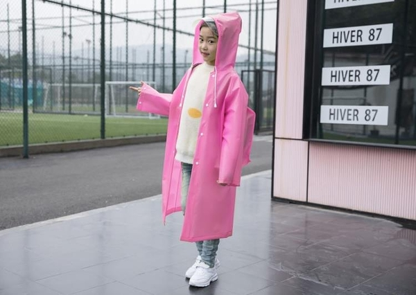 雨衣 兒童雨衣純色