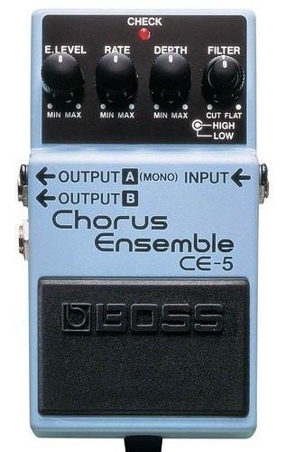 ☆ 唐尼樂器︵☆ Boss CE-5 Chrous Ensemble 電吉他和聲單顆效果器(最受歡迎的和聲之一)