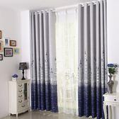 地中海城堡窗簾定制臥室客廳隔熱飄窗全遮光遮陽加厚