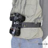 單反相機固定防甩腰帶登山戶外攝影騎行腰包帶【時尚大衣櫥】
