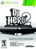 XBOX360 DJ 英雄 2 亞洲英文版